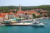 Supetar en la isla de brac, croacia — Foto de Stock