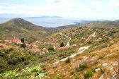 Spectacular picturesque summer landscape of Hvar coast, Croatia — Stock Photo