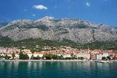 Gorgeous summer landscape on makarska in dalmatia, croatia — Stock Photo