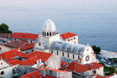 St. James Cathedral in Sibenik, Croatia — Stockfoto