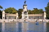 Estanque Grande in Retiro Park in Madrid, Spain — Stock Photo