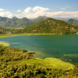 Lake Skadar in Montenegro — Stock Photo