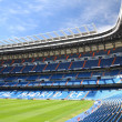 Santiago Bernabeu Stadium of Real Madrid, Spain — Stock Photo