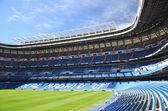 Santiago Bernabeu Stadium of Real Madrid, Spain — Stock Photo