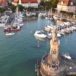 Harbor of Lindau on Lake Bodensee, Germany — Stock Photo #30979905