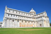 Famous cathedral on Square of Miracles in Pisa, Italy — Stock Photo