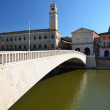 Mezzo Bridge over Arno river in Pisa, Italy — Stock Photo