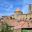 Постер, плакат: Spectacular view of the old town of Volterra in Tuscany Italy