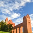 Picturesque view of Kwidzyn cathedral in Pomerania region, Poland — Stock Photo
