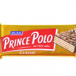 Prince Polo chocolate bar isolated on white background — Stock Photo #41797231