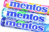 Mentos chewy dragees — Stock Photo