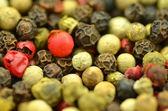 Closeup of colored pepper — Stock Photo