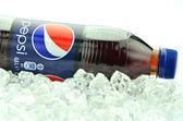Bottle of Pepsi drink isolated on white — Stock Photo