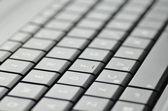 Gros plan de clavier d'ordinateur portable — Photo
