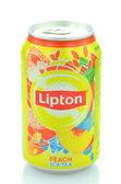 Lipton Ice Tea drink isolated on white background — Stock Photo