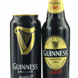 Guinness dry stout beer isolated on white background — Stock Photo