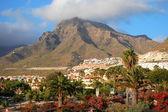 如诗如画的美丽杰出的风景度假村帕尔马在西班牙加那利群岛的特内里费岛上 — 图库照片