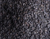 Black sesame seeds — Stock Photo