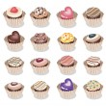 Vector set of chocolate candies — Stock Vector #36242833