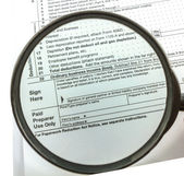 Expansion Tax form — Stock Photo