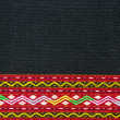 Pattern of Thai hand made fabric background — Stock Photo #33140139