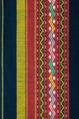 Colorful thai silk fabric pattern — Stok fotoğraf