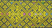 Colorful thai silk fabric pattern — Foto Stock