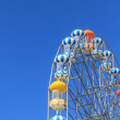 Ferris Wheel and Blue Sky — Stock Photo