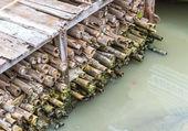 Old Bamboo Dam — Foto Stock