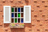 Vintage window — Stockfoto