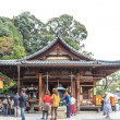 ������, ������: KYOTO JAPAN OCT 30 : Tourists at Kinkakuji Temple in Kyoto J