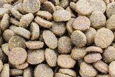 Close-up Dog food background — Foto Stock