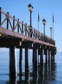 Marbella Pier Andalucia Spain — Stock Photo