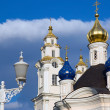 Christian Orthodox church dome — Stock Photo #22103363
