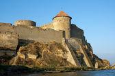 Medieval fortress Akkerman on the Dniester estuary — Stock Photo