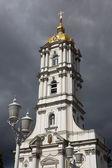 Christian Orthodox church bell tower — Stock Photo
