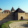 Stock Photo: Medieval fortress and defensive walls