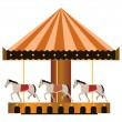 Carousel — Stock Vector