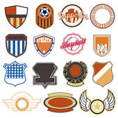 Sport badges — Stock Vector