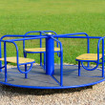 Children Carousel — Stock Photo #22586509