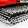 Snowplow tread — Stock Photo