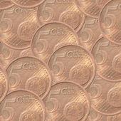 The Five Euro Cent , European Money — Stock Photo