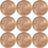 The Five Euro Cent , European Money — Stock Photo