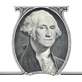 George Washington.One dollar. — Stock Photo