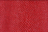 Red artificial leather snake texture (Cobra) — 图库照片