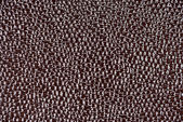 Glossy brown leather texture — Stock Photo