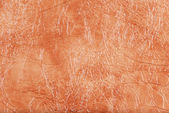Coral cuero sintético con relieve — Foto de Stock