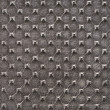 Dark gray synthetic leather with embossed texture — Stock Photo #34338223