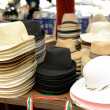 Colorful of many hats — Stock Photo