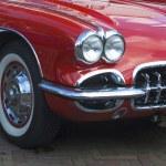 nos automóveis clássicos — Foto Stock